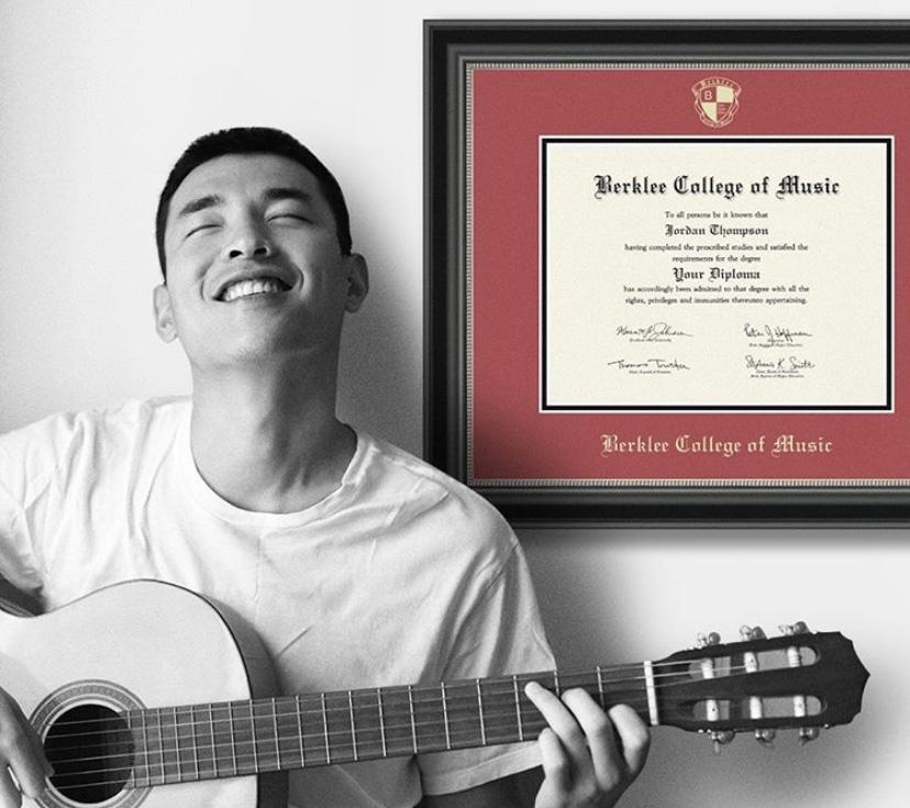 Berklee-College-of-Music-diploma-frame