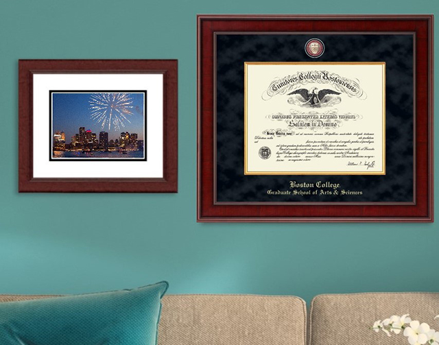Boston College Grad Frame