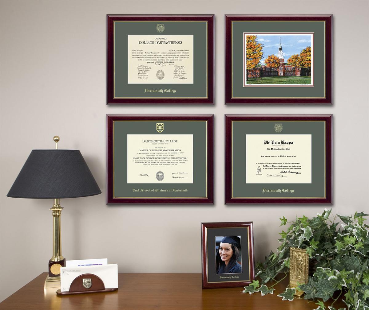 Dartmouth-College-diploma-frames