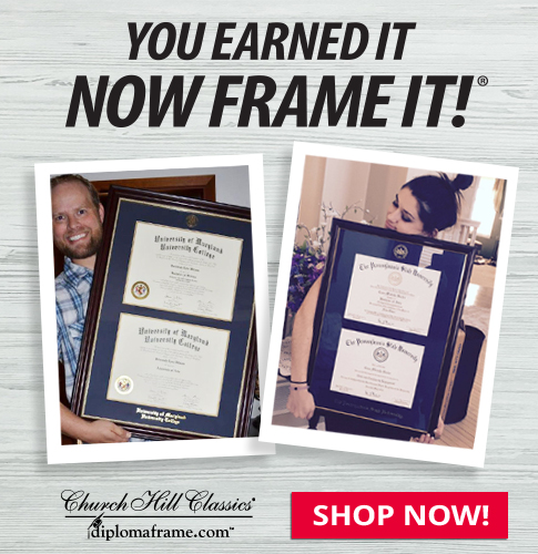 Earned It Frame It double diploma