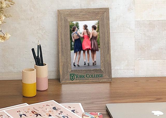 York college photo frame