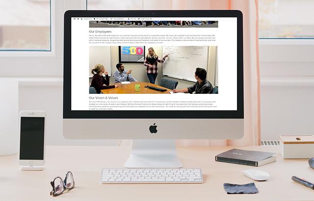 employee website
