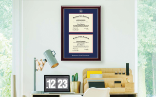 Double Diploma Frames