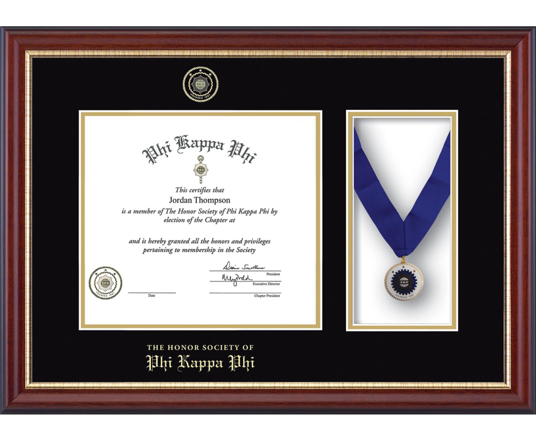 Medal Certificate Frame