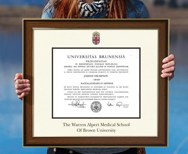 brown university frame