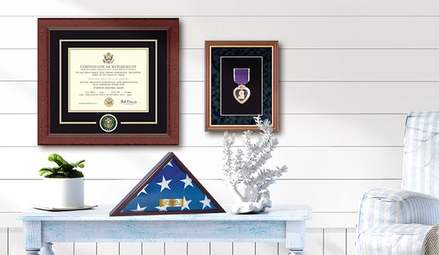 Military frames