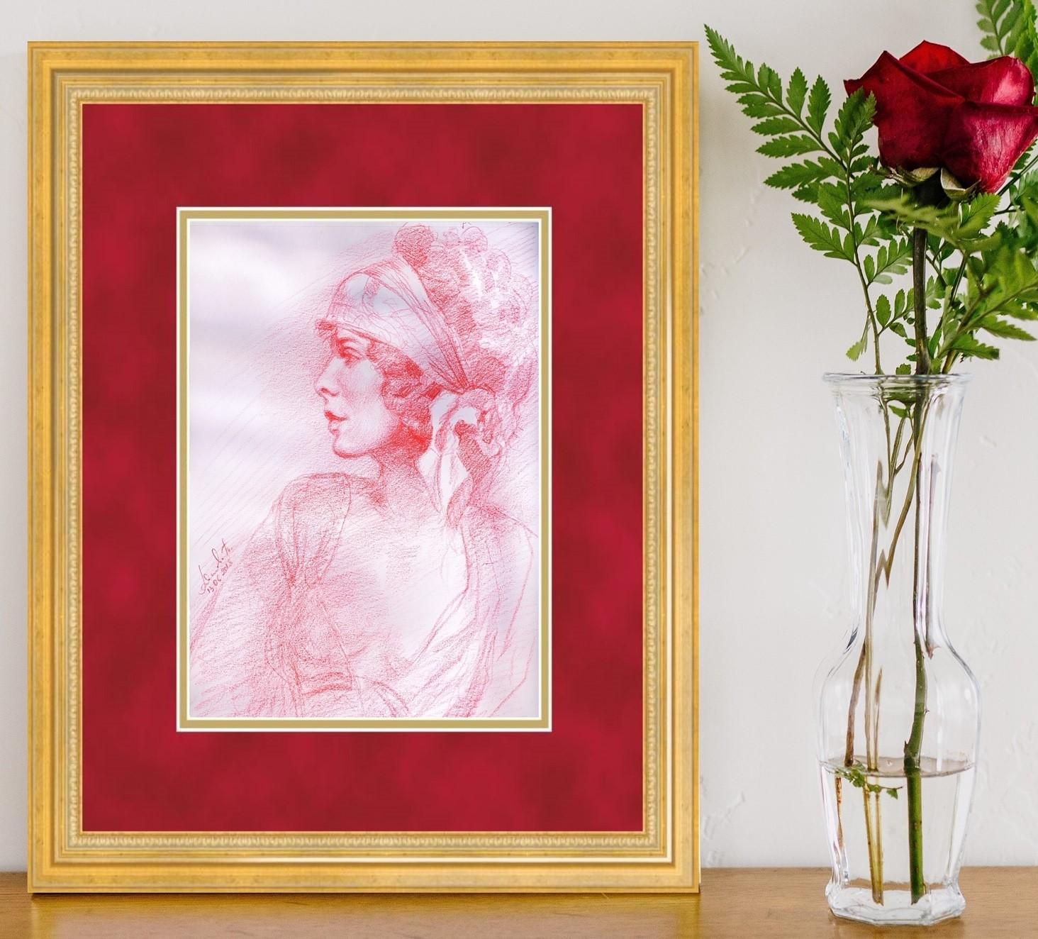 artwork in frame