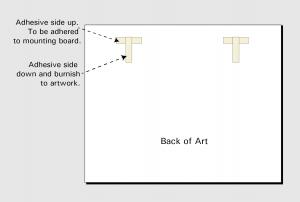 float mounting T-Shaped Hinge
