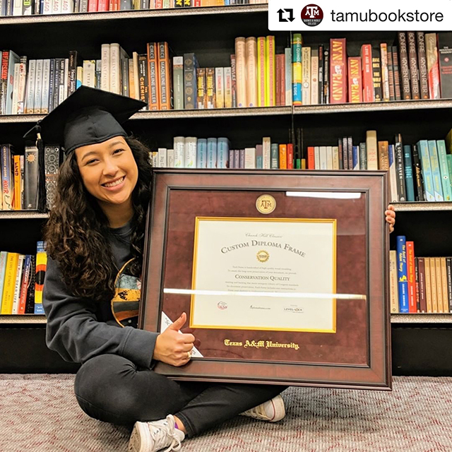 Tamu diploma frame