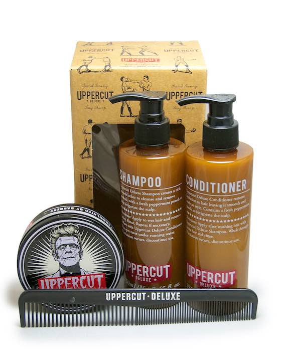 uppercut west coast shaving kit
