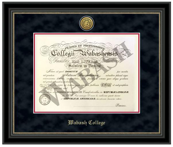 Wabash College still hands out sheepskin diplomas