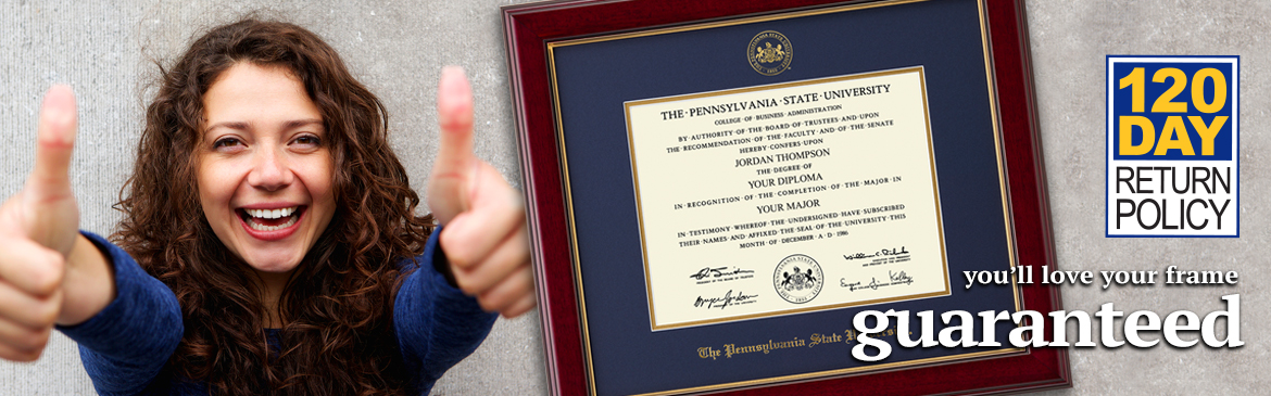 College and University Diploma Frames | Church Hill Classics